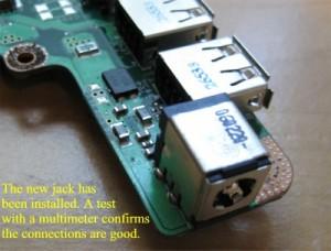 power jack repaired